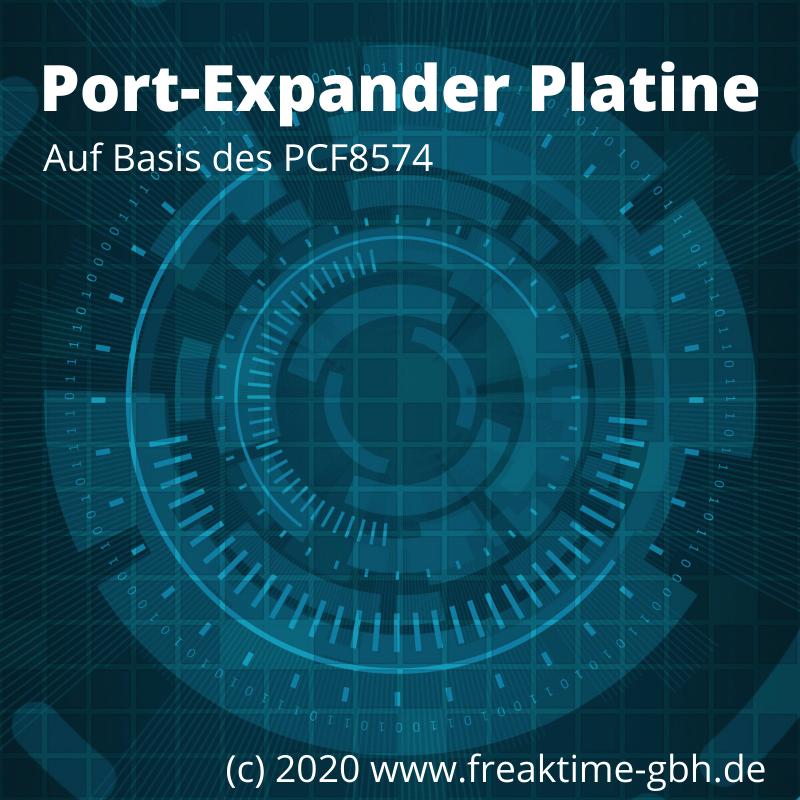 Port-Expander PCF8574 Ausgabeboard